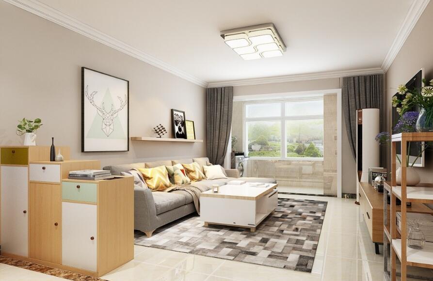 九十平米房子装修实图,主房间装修效果图现代