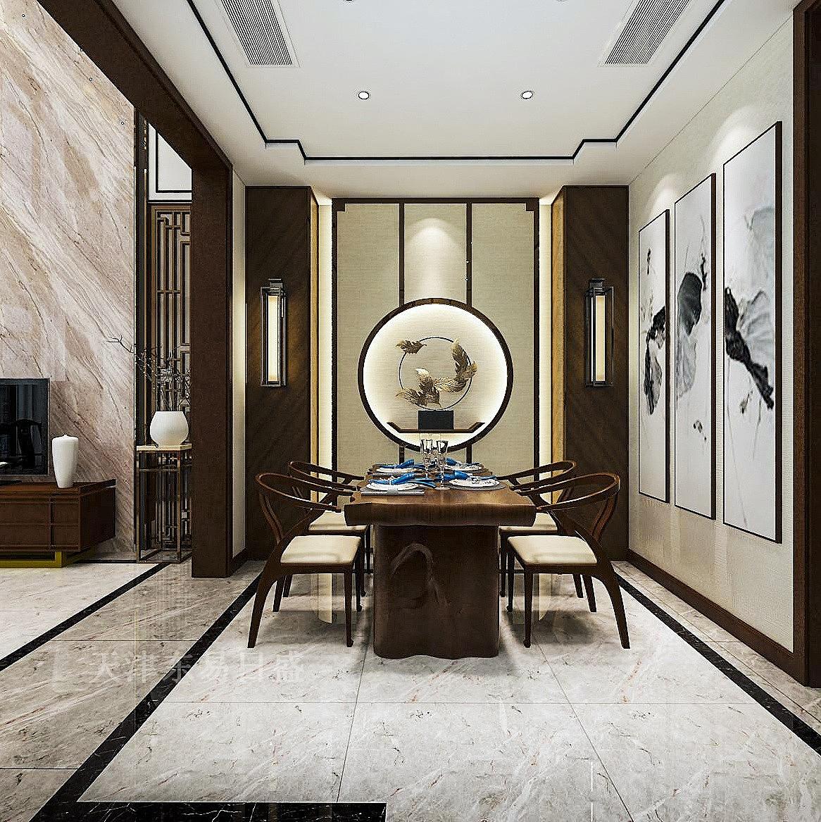 新中式200平装修预算_100平房子中式装修效果图大全_90平中式三房两厅
