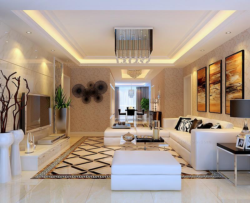一百平方三房二厅的楼房简单装修的好多钱