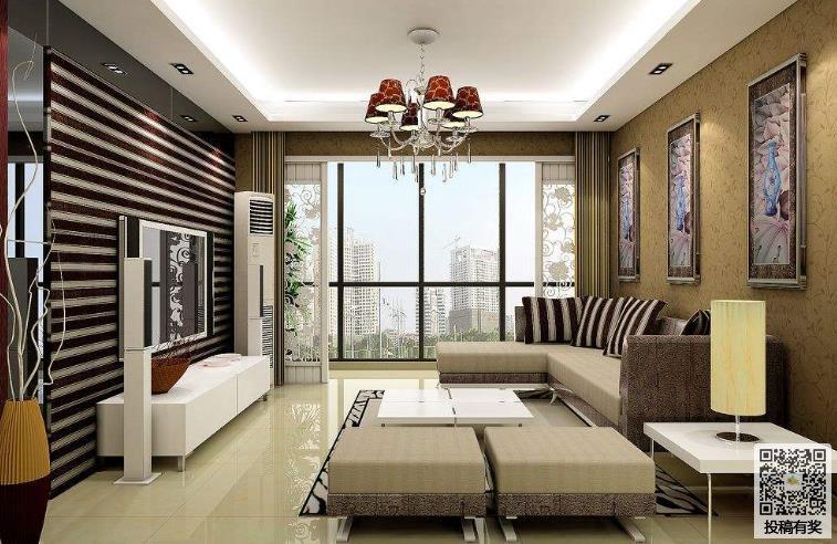 130平米三室两厅房子装修效果图