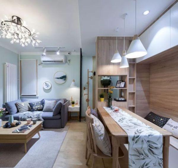 50平方小户型装修案例介绍,挤出两室一厅,效果还不错