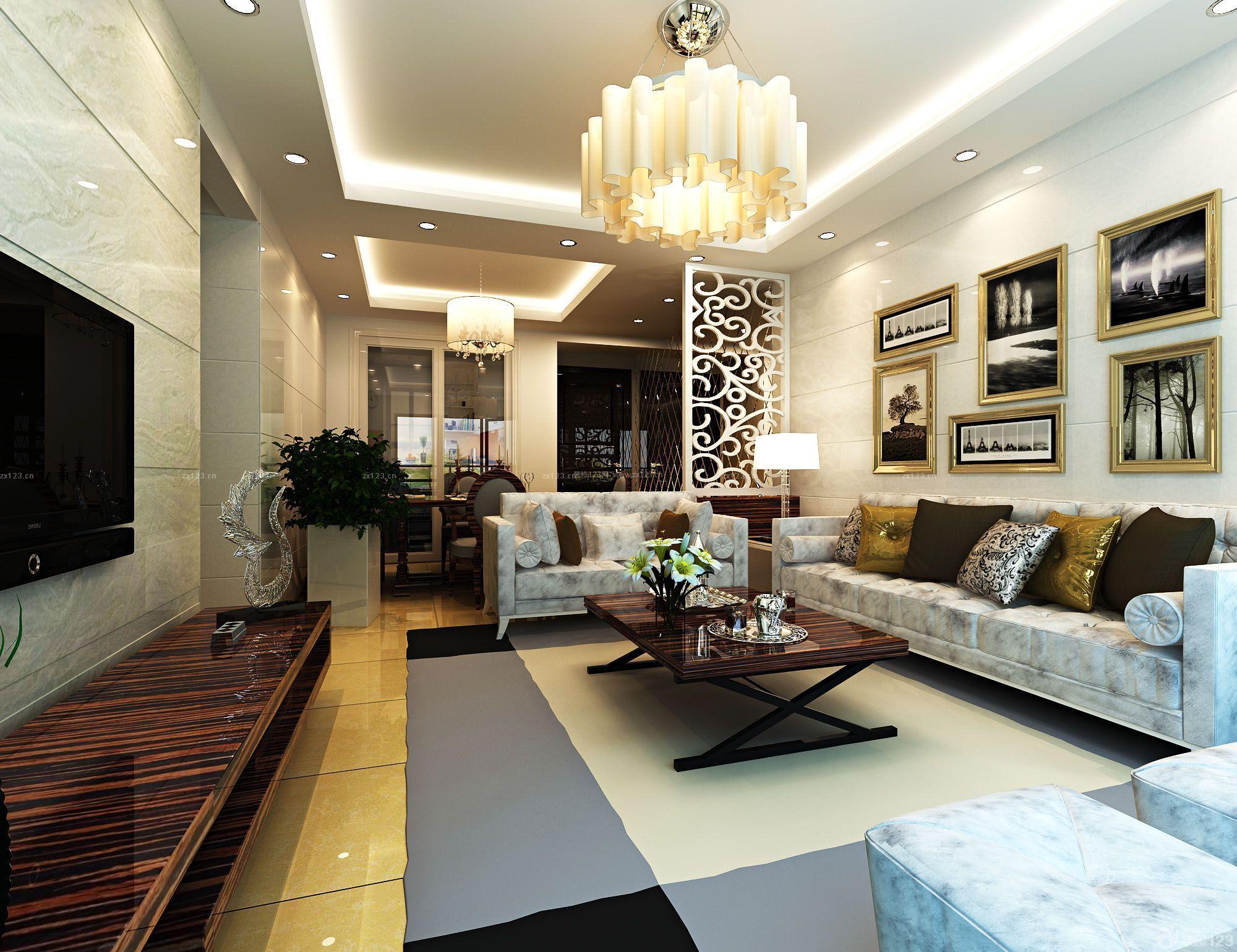 90平米室内装修效果图 12万打造90平米三居空间