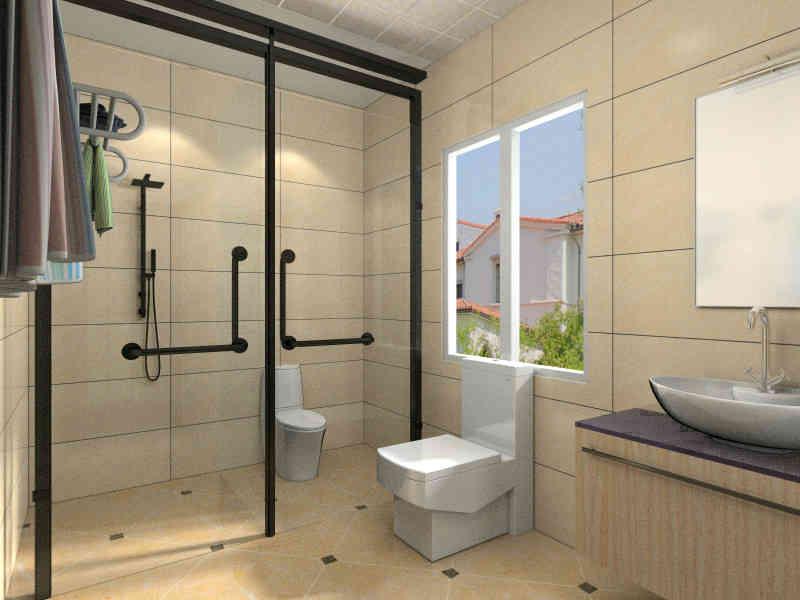 老公坚持这种装卫生间,厨房,面积大了不说,还是小区最美的装修