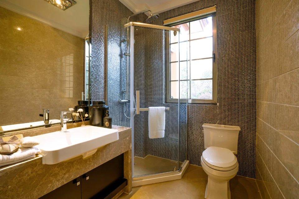 2020最潮卫生间设计 高端家具装修效果图