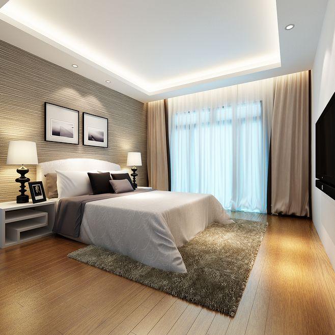 12平米卧室装修要点 让房间比较简洁优雅