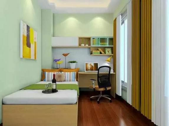 【7平米小房间装修效果图】7平米小房子设计案例图片蠢赏  卧室的装修