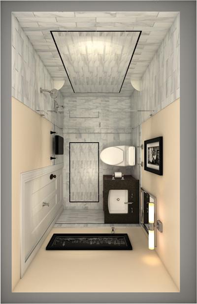 4平卫生间装修设计_绿色装修选材设计500问:居室细节设计_保姆间装修