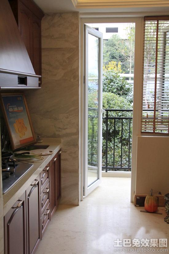 阳台房间装修效果图,阳台改厨房注意事项大揭秘
