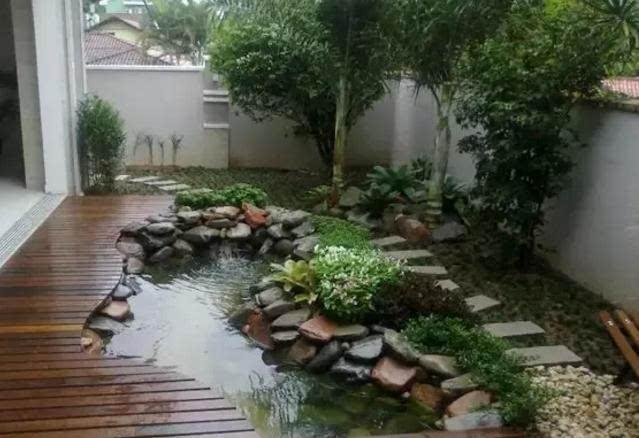 庭院小草坪景观图片_法式庭院景观_小庭院景观