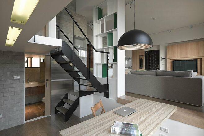 晒晒22平loft公寓设计,层高3.3m,装修好空间大一倍!