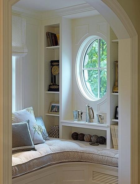 客厅弧形阳台装修设计_客厅书桌装修效果图_客厅装修隔断设计