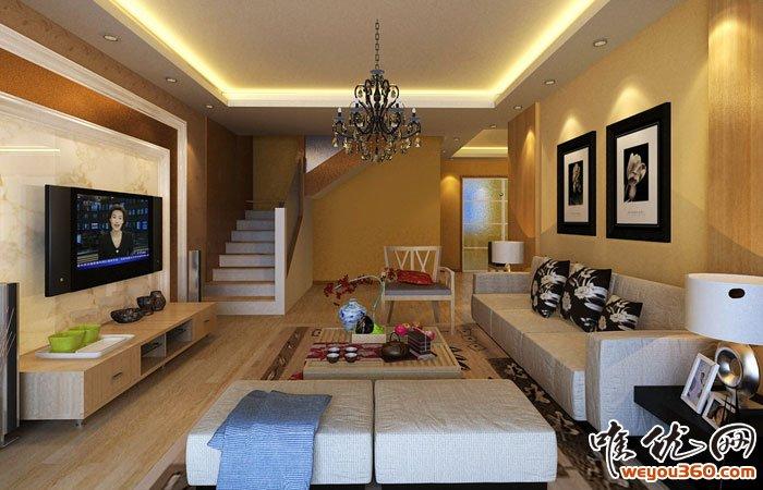 100平米房子装修设计图片大全 100平米房子简约装修样板房