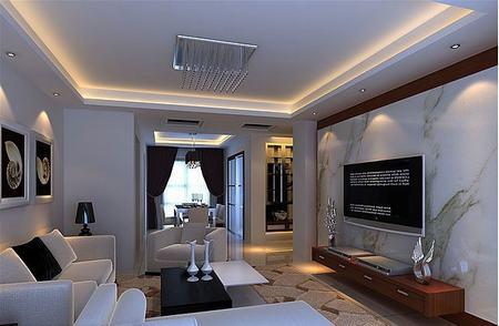 装修准备 设计 客厅装修图片2018 没有电视的多功能客厅装修