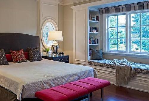 卧室窗户装修效果图赏析 这样展现卧室既优雅又时尚